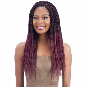 FreeTress Braid Pre-Feathered Senegalese Twist 20 inches