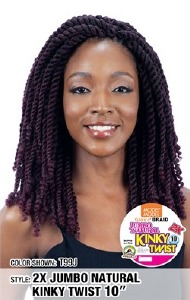Glance Braid 2x Jumbo Natural Kinky Twist