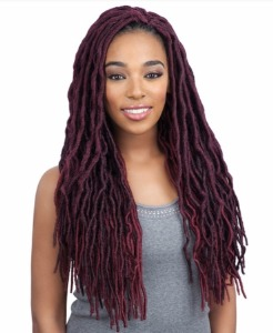 Glance Braid 2x Soft Wavy Faux Loc