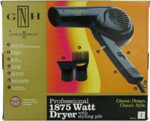 Gold N Hot Professional 1875-Watt Dryer with Styling Pik #2274