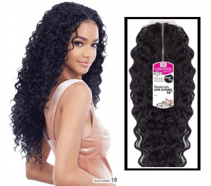 Gardenia Italian Curl Lace Closure 16 Inch