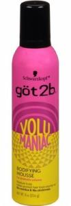 got2b Volumaniac Hair Mousse 8oz