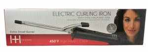 """Hot & Hotter Electric Curling Iron 1/4"""" Black #5859"""
