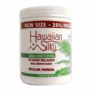 Hawaiian Silky No Base Relaxer 20oz Regular