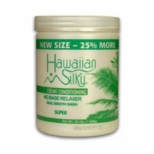 Hawaiian Silky No Base Relaxer 20oz Super