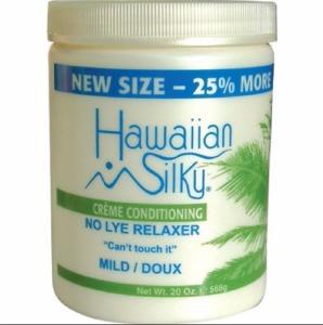 Hawaiian Silky No Lye Relaxer 20oz Mild