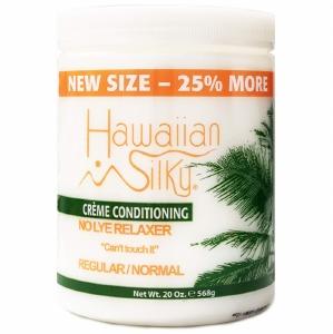Hawaiian Silky No Lye Relaxer 20oz Regular