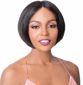Brazilian Human Hair Swiss Lace Front Wide T-Part Mimi