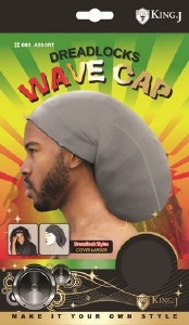 King J Dreadlocks Wave Cap Assorted Colors #083