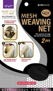 QFitt Mesh Weaving Net Black #502