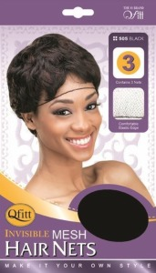 QFitt French Invisible Mesh Hair Nets #505