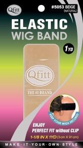 QFitt Elastic Wig Band Beige #5053