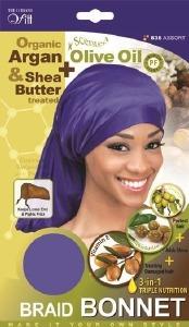QFitt Braid Bonnet Assorted Colors #836