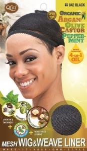QFitt Mesh Wig & Weave Liner Black #842
