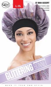 QFitt Glittering Bonnet L-XL Assorted Colors #9004