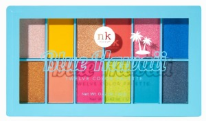 Nicka K Twelve Color Palette Blue Hawaii #ES12B2