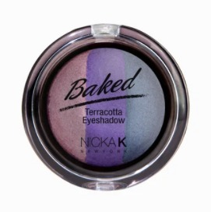 Nicka K Baked Eyeshadow Sparkle Plum #NBE06