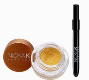 Nicka K Gel Eyeliner Gold #NGE03