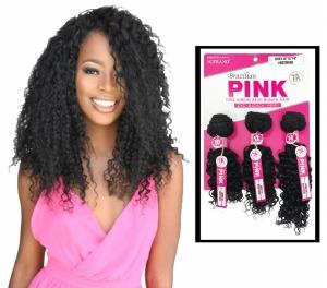 Soprano Brazilian Pink Virgin Remy Bundle Pack Jerry