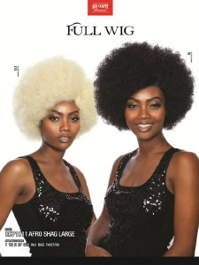 Red Carpet Afro Shag LG RCP1011