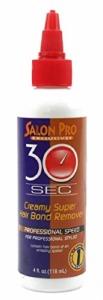 Salon Pro 30 Second Creamy Super Hair Bond Remover 4oz