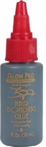 Salon Pro Hair Bonding Glue 1oz Black