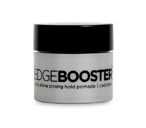 Edge Booster Extra Shine Strong Hold Pomade Cool Shine 0.5oz