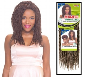 2X Mambo Tantalizing Twist Braid 10 Inch