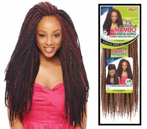 2X Mambo Tantalizing Twist Braid 18 Inch