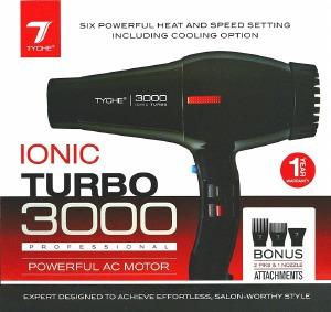 Tyche Ionic Turbo Jet 3000 #TD-1B
