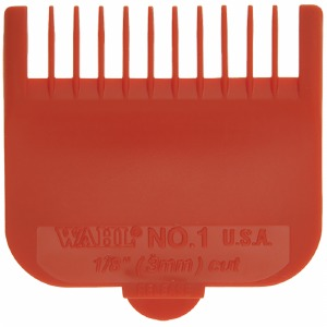 WAHL Nylon Cutting Guide Red #1