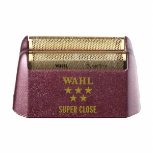 WAHL 5 Star Shaver Replacement Foil - Red Super Close Gold Foil #7031-200
