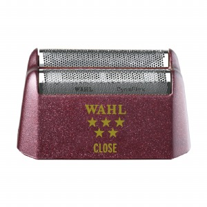 WAHL 5 Star Shaver Replacement Foil - Red Close Silver Foil #7031-300