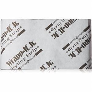 Wrapp-It Jr. Styling Strips Black Pack