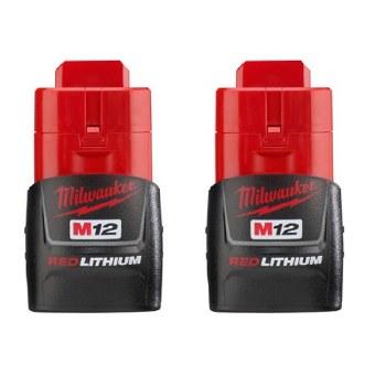 M12 COMPACT BATTERY 2PK