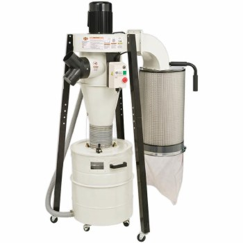 1-1/2HP CYCLONE DUST COLLECTOR