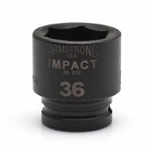 "D-3/4"" DR X 23MM IMPACT SOCKET 6PT"