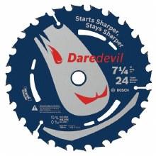 "DAREDEVIL 7¼"" 24T FRAM BLD"