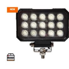 "6"" LED CLEAR SPOT-FLOOD LIGHT"