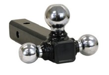 CHROME TRI-BALL HITCH