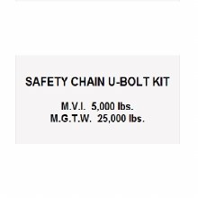U-BOLT SAFETY CHAIN KIT