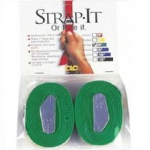 2- 6' GREEN WEB TIE DOWN STRAP