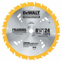 "8 1/4"" 24 TOOTH  SAW BLADE"