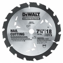 "7 1/4"" 18TOOTH SAW BLADE"