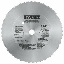 "7-1/4"" SAW BLD 140T HOLLOW GRD"