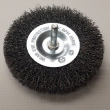 "1-1/2"" WHEEL BRUSH, STEEL"