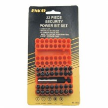"33PC 1"" SECURITY SCREW BIT SET"