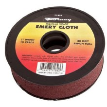 "EMERY CLOTH 1""X10YD 80 GRT"