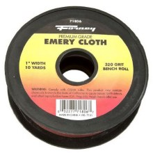 "EMERY CLOTH 1""X10YD 320 GT"