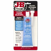 CLEAR SILICONE 3OZ TUBE